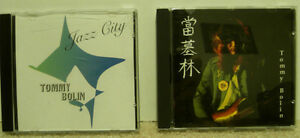 Tommy Bolin CD's - Rare