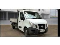 NISSAN NV400 2.3DCI 125PS L2H1 TIPPER WOW JUST 16,000 MILES NO VAT ONE OWNER!!