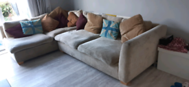 Large corner couch