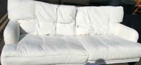 IKEA white settee