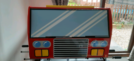 Firetruck toddler bed by Kidicraft £30 ono