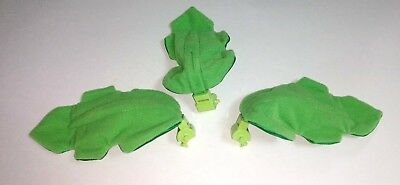 3) Fisher-Price Rainforest Peek-A-Boo Leaves Mobile Soft Leaf Replacement Parts