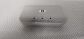 A hp 2101 NW wireless g usb print server