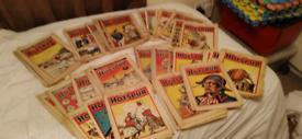 Comics vintage 1940s hotspur