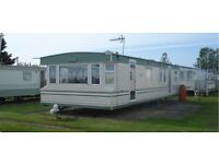 3 BEDROOM STATIC CARAVAN FOR HIRE SKEGNESS, PET FRIENDLY SAT 8TH - SAT 15TH APRIL £230