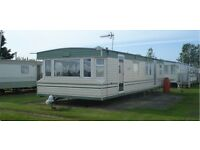 3 BEDROOM STATIC CARAVAN FOR HIRE SKEGNESS, PET FRIENDLY SAT 17TH - MON 19TH SEPT 2 NIGHTS STAY £80