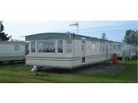 3 BEDROOM STATIC CARAVAN FOR HIRE SKEGNESS, PET FRIENDLY SAT 8TH - SAT 15TH APRIL £230