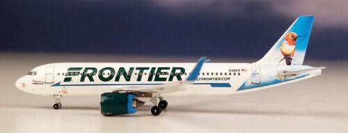 Aeroclassics ACN318FR Frontier A320-2 Hummingbird N318FR Diecast 1/400 Jet Model