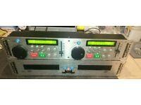 Kam KCD1000CDG twin karaoke players for DJ use - cdg compatible