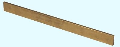 Brass Flat Stock 18 X 14 X 6 Mill Finish 360 Solid Rectangle 72 Long Strip