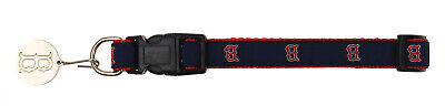 Sporty K-9 MLB Boston Red Sox Ribbon Dog Collar, Small