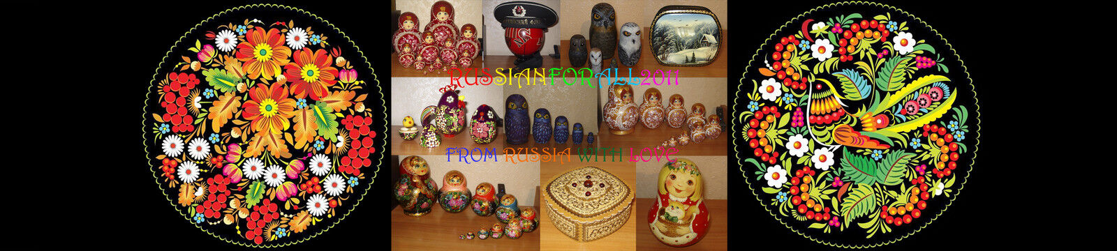 Many beautiful russian things