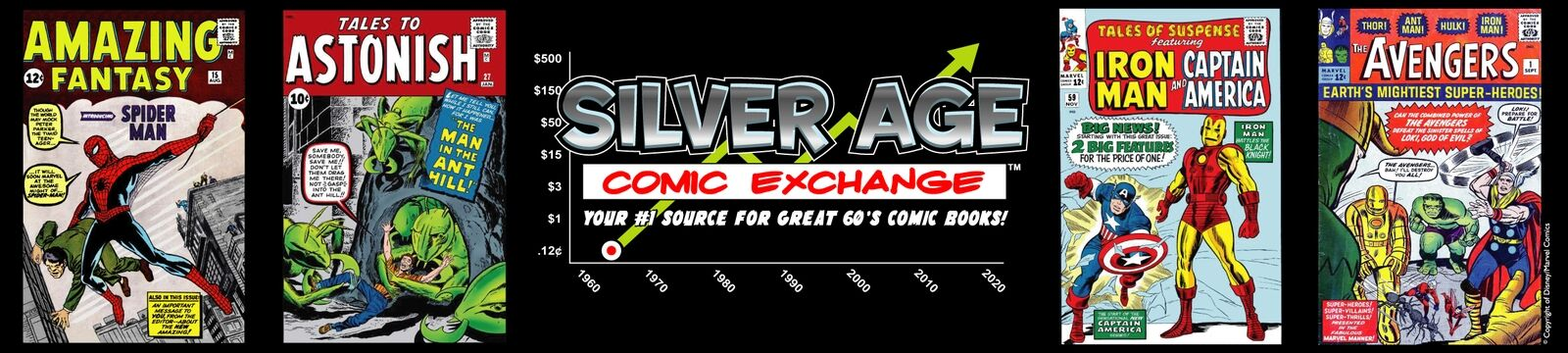 silver age comic exchange
