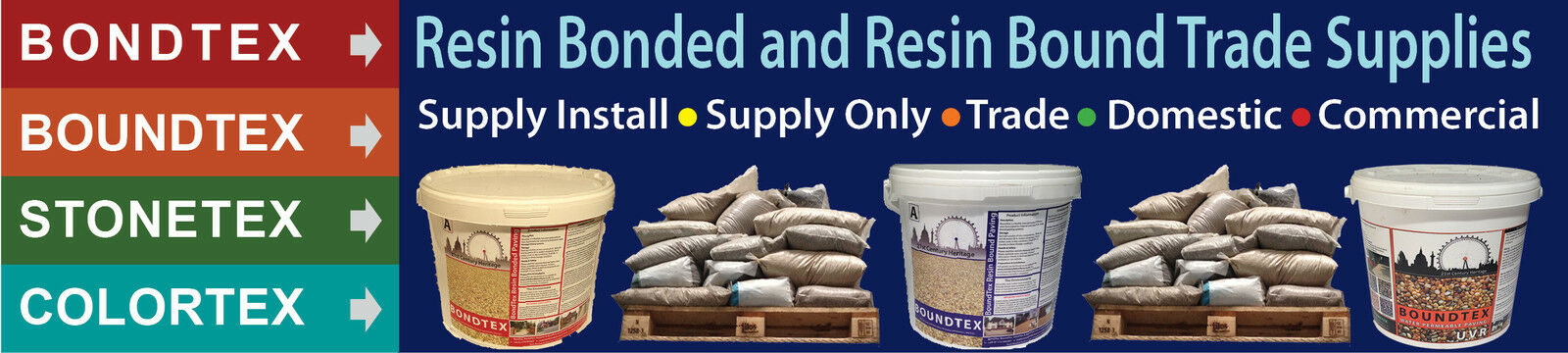 Trade Resin Bound Supplier