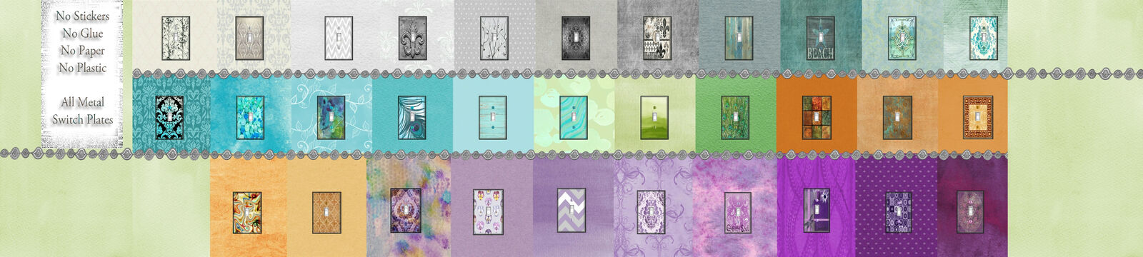 Luna Gallery Switch Plates