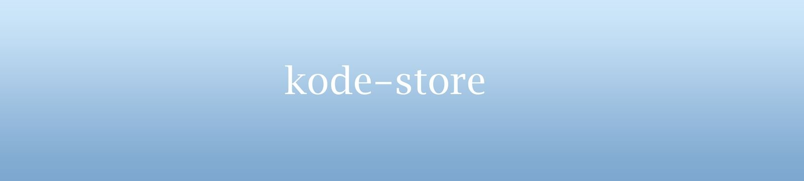 kode-store