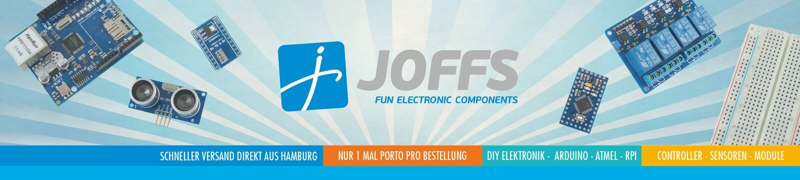 JOFFS Fun Electronic Components