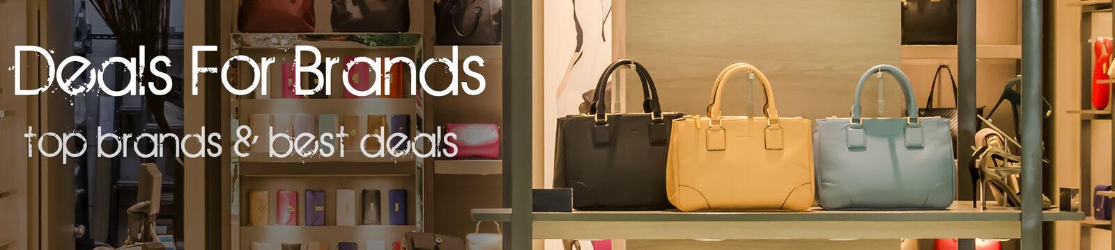 Deals and Brands