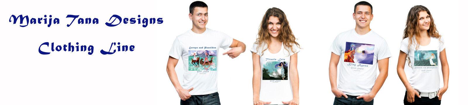 Unisex T Shirts Maria Tana Designs