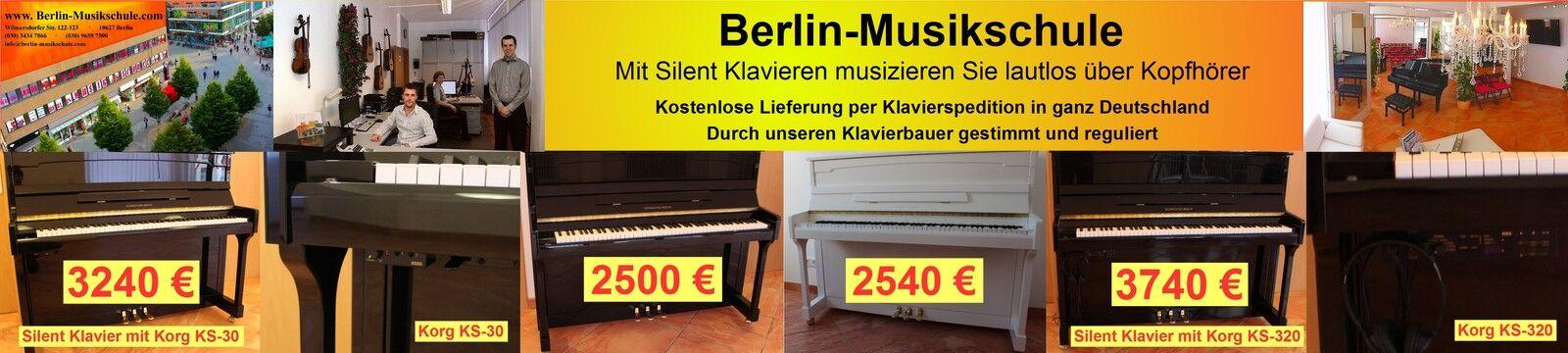 Berlin-Musikschule(Silent-)Klaviere