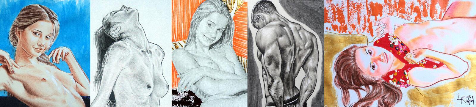 Lucas Rafael Nude Fine Art