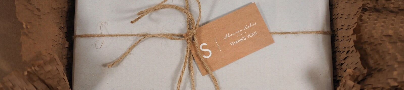 Brown Paper Packages and String