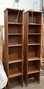 Ikea bookshelves with file drawer