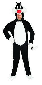 Rub - Looney Tunes Herren Kostüm Kater Sylvester Karneval Gr.48-52 (Looney Tunes Kostüm)