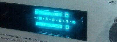 Lot 4 Pcs Ivlshu1-112 Vfd Nixie Tubes For Level Display Nos Tested