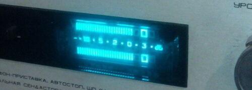 Lot 4 pcs IVLShU1-11/2 VFD Nixie Tubes for Level Display NOS Tested