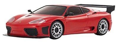 Kyosho 1/27 Mini-Z MR-03 SPORTS Ferrari 360 GTC Coche RC Listo Set...