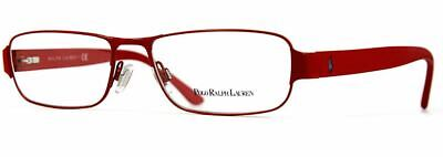 Authentic Polo Ralph Lauren Eyeglasses PH1133 9243 Red Frames 52mm Rx-ABLE