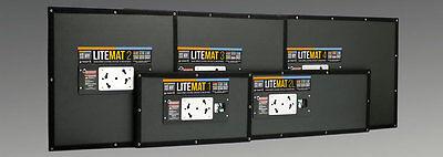 LED LiteMat 3 Complete Unit Kit HYBRID Mole Richardson ARRI Kino Flow LiteGear