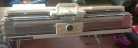 Silverreed knitting machine and ribber with lots of extras