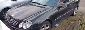 Mercedes CLK 320 Petrol Breaking w209