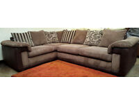 Corner Sofa Brown. Local delivery available