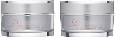 Glycolix Elite 20  Glycolic Acid Facial Cream 1 6 Fl Oz   2 Pack