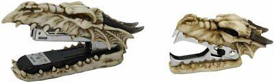Pacific Giftware Novelty Guardian Skull Dragon Stapler Remover Office Desktop...