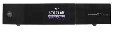 VU+ Solo 4K 2x DVB-S2 FBC Tuner PVR Ready Twin Linux Receiver UHD 2160p