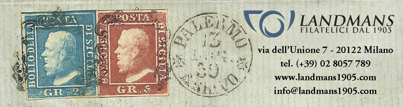 LANDMANS FILATELICI DAL 1905