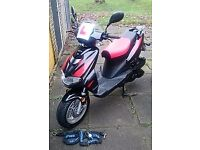 Lintex Tornado 125cc Scooter - Bought but not used