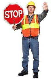TRAFFIC MARSHALL , BANKSMAN TRAINING COURSES (SAME DAY ID CARD AND CERTIFICATE) EVERYDAY TRAINING