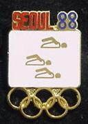 Olympic Swimming Pin