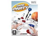 Nintendo wii game party, 7 fun sports games in one