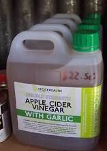 DOUBLE STRENGTH apple cider vinegar 2 lts, 5lts, 20lts, 200lts Herne Hill Swan Area Preview