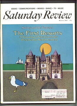 Saturday Review Magazine 1969 Travel The First Resorts News Pictures 1968 Review