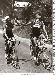 Presse-Archrivals-Bartali-Coppi-Tour-de-France-print-cycling-poster-Europe-race