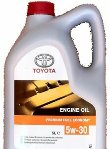 genuine toyota engine motor oil 5 litres 5w30 semi. Black Bedroom Furniture Sets. Home Design Ideas