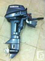 Yamaha 6 hp outboard  15 inch transom