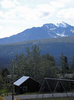 Cabin and 2 Lots in Haines Junction Yukon